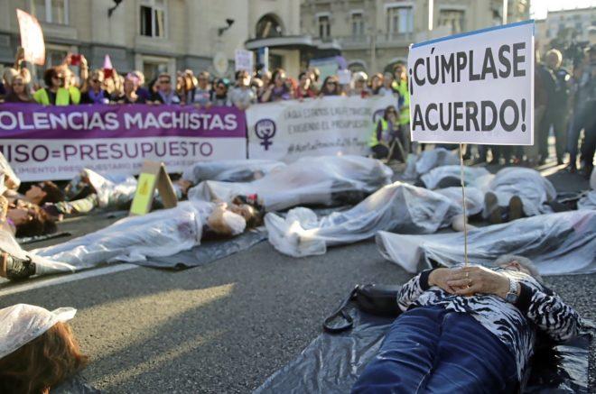 Manifestaciónfeministacontrael incumplimientodelpactodeEstadoporla violenciagénero_JP Gutiérrez