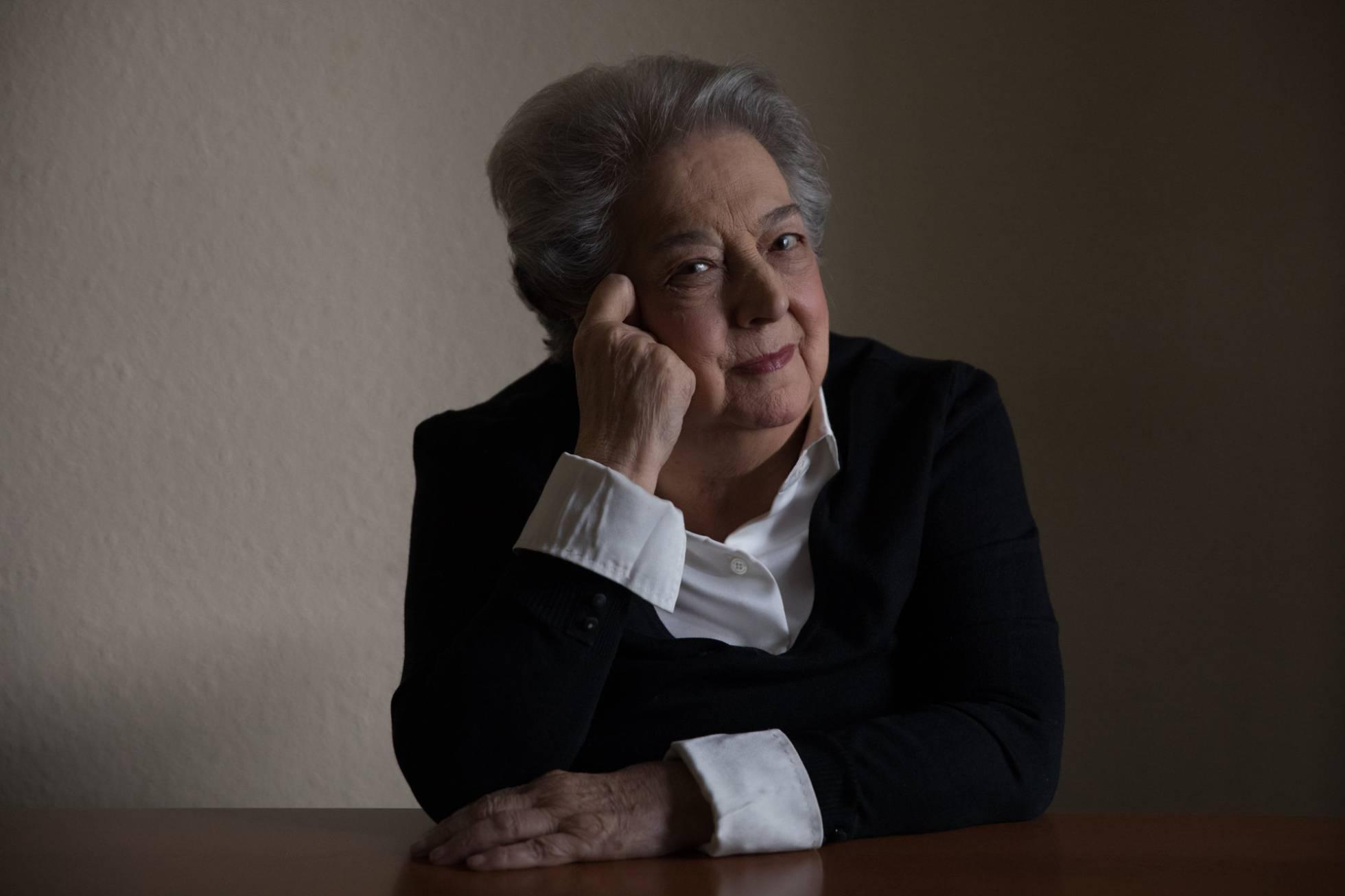 La activista feminista Ana Maria Pérez del Campo en Madrid VICTOR SAINZ