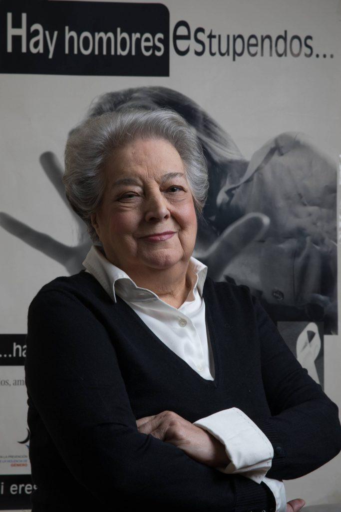 La activista feminista Ana Maria Perez del Campo en Madrid. VICTOR SAINZ
