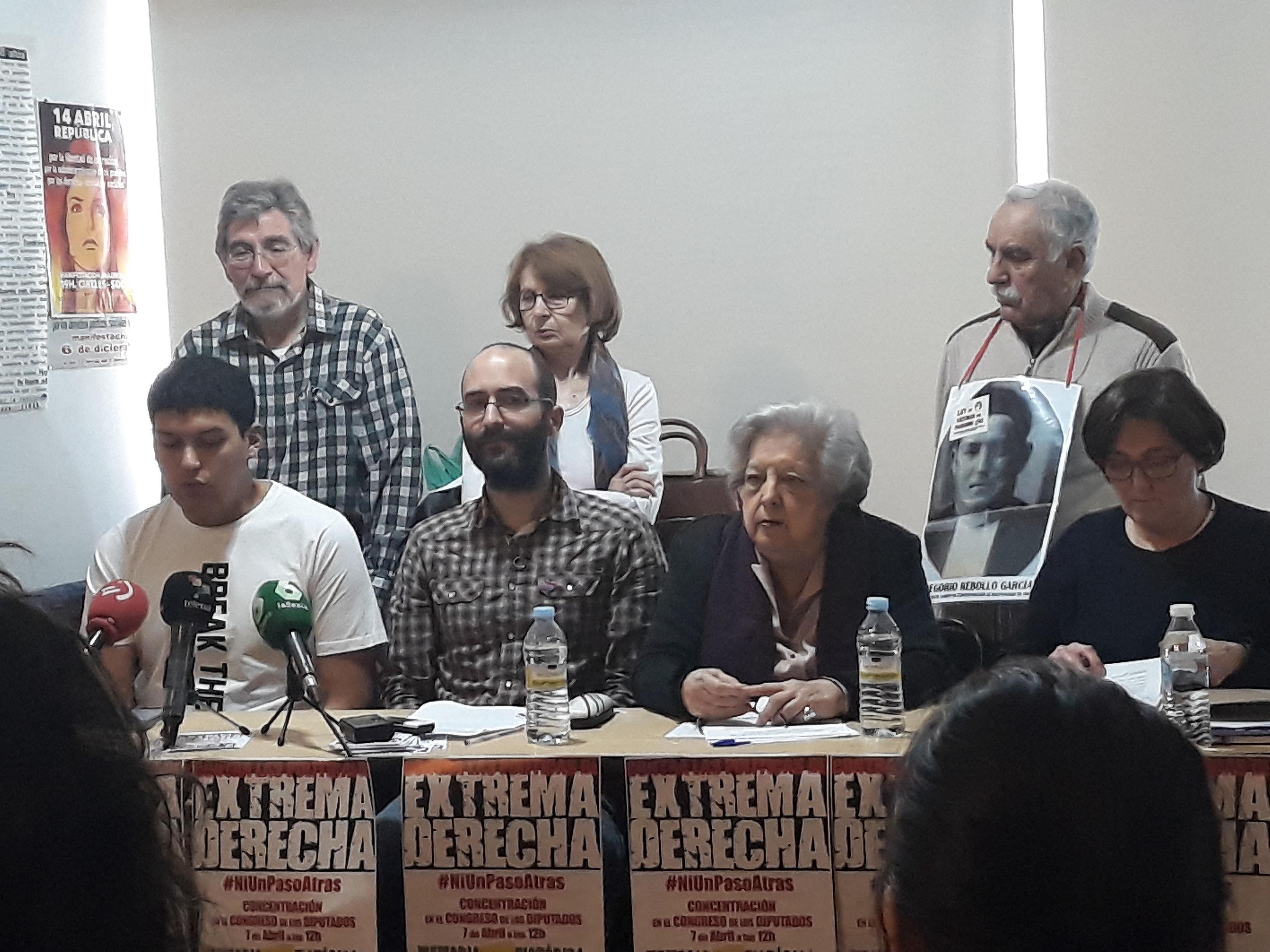 Rueda de Prensa Ni Un Paso Atrás