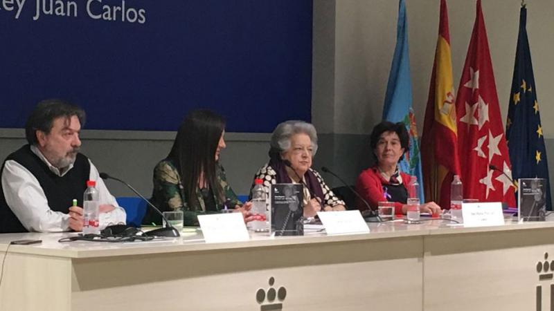 La presidenta de la Federación de Asociaciones de Mujeres Separadas y Divorciada, Ana María Pérez del Campo (c) El Plural